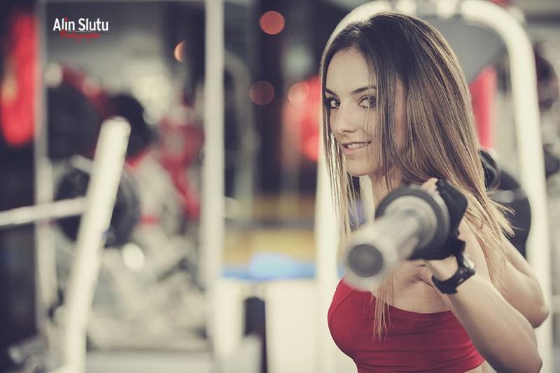 fotografie in sala de sport
